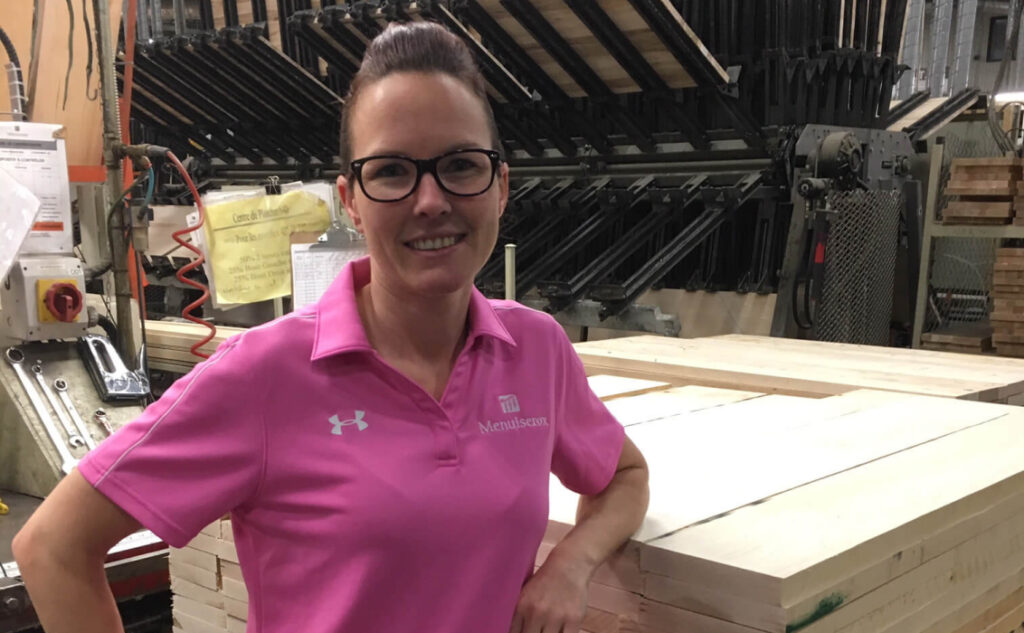 emploi Beauce_usine_femme_transformation bois